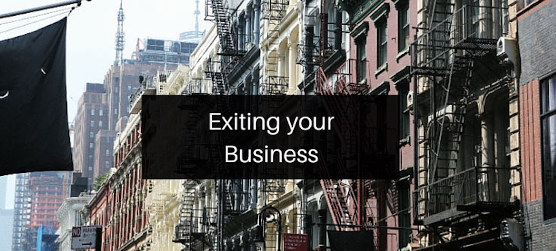 Exiting your Business
